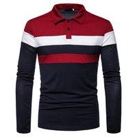 2020 Automne et hiver Nouvelle mode Chemise à manches longues à manches longues occasionnelles pour hommes