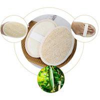 천연 Loofah 죽은 피부를 제거하는 수건 타월 조롱박 욕조 공을 닦으십시오 홈 또는 더운 목욕 스폰지 T9i001126