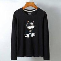 Luo KA мужская базовая рубашка один размер футболки с длинным рукавом Модель: KL-69.99 201116