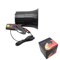 12V Auto Motor 3 Tone Sirene Laute Auto Horn Lautsprecher Ambulanz Auto Alarm Sound Lautsprecher Warnung Alarm Feuer Sirene Horn1