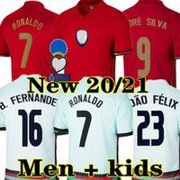 2020 كرة القدم جيرسي جواني جواو فيليكس نيفيس CR7 برناردو ب. فرنانديز شامل روبن نيفيو ديوغو ج. 2021 المنتخب الوطني للرجال + أطفال كيت قميص كرة القدم