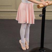 Giyim Sansha Bale Fransız Kızların Uygulaması Çocuk Performans Sınavı Dans Etek