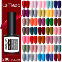 LEMOOC Verniz Set Kits 20 / 40Pcs Set 8ML Gel UV unhas Glitter Holographics Soak Off Art Gel UV Verniz para
