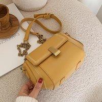 Diseñador- Bolsas de mujeres pequeñas Bolsas de cuero Hombro PU Bolsa de PU Tendencias Bolsos Monederos y diseñador Femenino Invierno para Rihkv