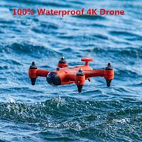 2020 5.8 GHz 8CH Uzaktan Kumanda ile Su Geçirmez Drone RC Hava Hareketi Quadcopter için 4 K 12MP Kamera