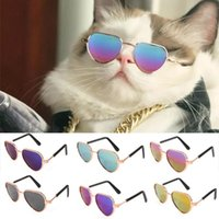Прекрасные очки для домашних животных очки для собак очки для собак очки домашних животных котенок игрушечные солнцезащитные очки фотографии аксессуары в форме сердца красочные