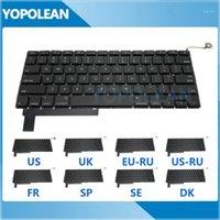 """Новый для Pro 15 """"A1286 Замена клавиатуры США Великобритания Русская французская Испания Швеция Дания версия 2009-2012 годы1"""