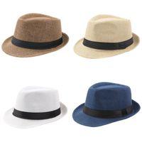 Simplicity Hat Sunscreen Hemming Hemming King GearGear Giaccio Jazz Fashion Donna Man Sunscreen Cap Outdoor Estate Vendita calda 4 8XY K2