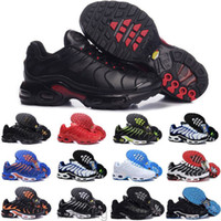 Erkek TN Artı Rahat Ayakkabılar SE Ultra Beyaz Volt Siyah Hiper Mavi Oreo Mor Tasarımcı Sneakers TNS Klasik Açık Eğitmenler Boyutu 40-46 BT1T