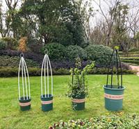Kraflo Gardening trellis plant climbing frame indoor and outdoor rose clematis pot decoration vine Flower stand