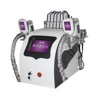 Kriyo Cryolipolisis Zayıflama Yağ Donma Makinesi Yağ Temizleme Vakum Cryolipolysis Kilo Kaybı Ekipmanları Ultrasonik Kavitasyon Kontur