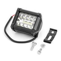 migliore prezzo all'ingrosso 60W 4 pollici off auto Auto Road 4x4 LED barra luminosa 4 '' 60W LED di lavoro 12V luce