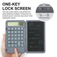 Calculadora Tablero de escritura a mano 6.0 pulgadas escritura Tableta Portátil Smart LCD Gráficos Bloc de notas Dibujo Tablet Papelless con recargable