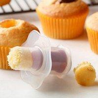 Cupcake Filler Core Core Cake Plunger Muffin Modello fai da te rendono Sandwich Hole Filler Cake Tools Tools GWF4349
