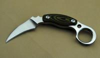 Kazutoshi Tanabe Ghost Claw нож D2 60 HRC Karambit Открытый охотничий нож для отдыха на выживание фиксированный лезвие нож