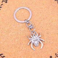Hediye için Moda Anahtarlık 28 * 25mm örümcek arachnic Kolye DIY Takı Araba Anahtarlık Halka Tutucu Souvenir