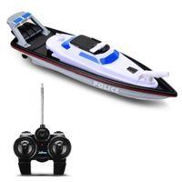 XQ 1/28 Venda superior 2.4g barco de controle remoto de rádio para pescar com tiro de água esporte rc brinquedos de barco para crianças crianças adultos