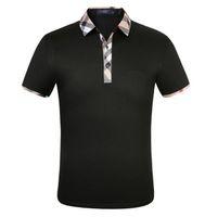 A3 Ropa para hombre Poloshirt camisa hombres algodón mezcla de manga corta casual transpirable verano transpirable ropa sólido tamaño M-3XL