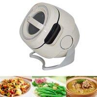 Frigideira Elétrica 6L Inteligente Máquina de Frigideira Cozinhar Fogão Arroz Automático Agite Fryer Pot Robot