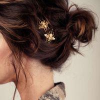 أزياء المرأة نمط فتاة رائعة الذهب النحل دبوس الشعر كليب أنيقة مقاطع الشعر المشمعات الحلو أغطية الرأس اكسسوارات للشعر