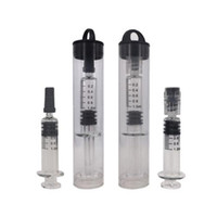 1ml Glass Syringe Disposable Vape Thick Oil Tank Luer Lock &...