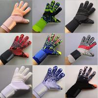 2020 Профессиональный футбол Вратарь Glvoes Latex без пальцев Защита детей взрослых Футбол вратарские перчатки AD258