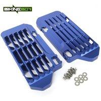 Bikingboy CNC Radiador de Alumínio Proteção Guarda para YZ 250 F 14-19 YZ 450 F 14-17 250 FX 15-19 450 FX 15-181