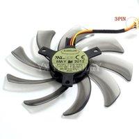 Fans Fans Everflow T129215SM 95mm 2 Pin 3 Computer Cooler Fan para Gigabyte GV-N650OC-1GL 2GL GV-N550WF2 N56GOC R667D3 R777OC1