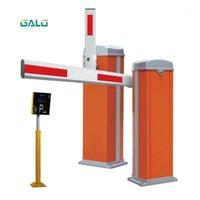 Parmak İzi Erişim Kontrolü Hafif Duty Pas-Ücretsiz Otomatik Bariyer Boom Kol Kapısı Park Sistemi Alüminyum 1-4.5 Metre DIY Sipariş Mark1