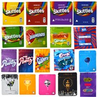New 3. 5g Mylar bags edibles Packaging Nerds Rope Packaging R...