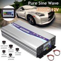 Auto Jump StarterPower Omvormer Pure Sinus Wave Power 12V naar AC 220V 3000W / 4000W / 5000W / 6000W Intelligent Screen Voltage Transformer Inverter1