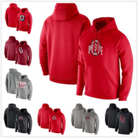 Ohio State Buckeyes Sweatshirt Oklahoma früher Hoodies Langarm Pullover Mode Pullover Mens Hoodie Sweatshirts