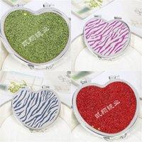 Kompaktowy Lustro Ręczne Korea Cute Kosmetyczne Makijaż Cartoon Lusterka Przenośna Fold Originality Mini Dwudni Okrągły Prezent 0 55KX M2