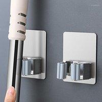 Крючки Rails Настенная монтажная МП Органайзер держатель для щетки ведей вешалка для домашнего хранения ванная комната всасывающая труба бытовой инструменты1