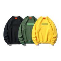 20ss męska kurtka marki sweter sweter dorywczo z długim rękawem Designer Company top bluza Mens Luksusowy kaptur O-Neck Swetover