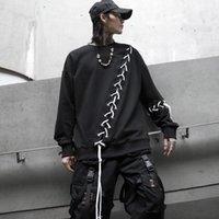 Hybskr Printed Men Hoodies 2020 Autumn New Men's Hooded Sweatshirts Fashion Black Man Streetwear Hip Hop Casual Pullovers