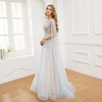 Шампанские платья мода дамы Bling Bling Rightdress роскошное синее хозяева платье LJ201224