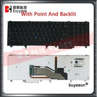 Teclado dos EUA para o laptop para E6520 E6530 E6540 E5520 E5520M E5530 Inglês Teclado com ponto de fundo retroiluminado Ponto testado1