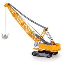 Liga Diecast 1:87 Crawler Tower Cable Escavadeira Modelo Modelo Engineering Veículo Tower Crane Collection Gift for Kids Toy LJ200930