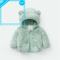 Зимние кошки для девочек Parka с капюшоном жирная теплая куртка 2020 рождественские детские одежда мальчики пальто