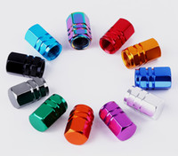 알루미늄 육각 타이어 밸브 스템 캡 자동 자전거 오토바이 육각 밸브 밸브 커버 자동차 스타일링 부품 액세서리 4.9
