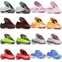 2020 رجل الفتيان أحذية كرة القدم زئبقي ال superfly السابع 7 النخبة SE AG المرابط كرة القدم النسائية الأطفال CR7 نيمار رونالدو أحذية كرة القدم حجم 35-45