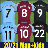 2020 The Hammers Soccer Jersey 125th Cheansary Irons F.anderson Benrahma Lingard Football Jerseys Haller Rice Wilshere Oryths