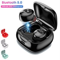 Colorful XG12 TWS Earphone Display Box Bluetooth 5.0 Wireless Audio Headphone HiFi In-Ear Touch Control Noise Cancelling Headset Earbuds