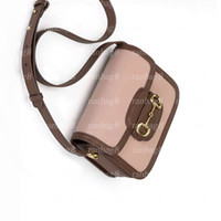 Sac à bandoulière de haute qualité Moyenne 25cm Saddle Sac à main PVC Femme Femme Bandbody Sac Sac 602204