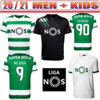 20 21 SPORTING CP Fussball Jerseys Phellype 2021 Vietto Football Hemd Torhüter COATES ACUNA Sporar Jovane Herren Kids Kit Uniform