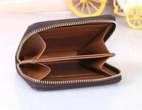 Nova Carteira Zippy Vertical A maneira mais elegante Carregar em torno de cartões de dinheiro e moedas famosas design de couro bolsa de couro titular longo negócio