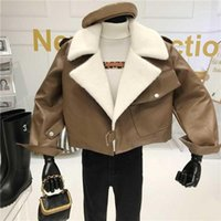 Quilted Small Leather Coat Women Autumn Winter Niche Design ...