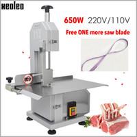 XEOLEO machine à scier l'os os machine de découpe de viande congelée coupe commerciale coupée Trotter / Côtes / Poisson / Viande / boeuf 110V / 220V