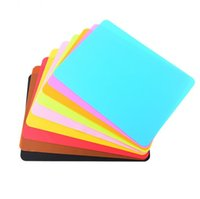 Красочные пищевые силиконовые коврики 40 * 30см выпечки вкладыша силиконовая печь коврик теплоизоляционная прокладка для выпечки детский стол